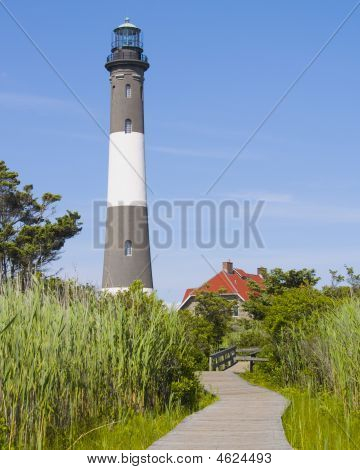 Lighthouse Fire Island