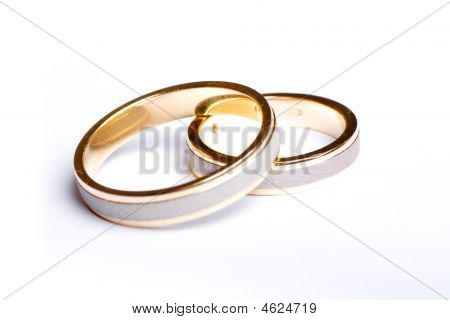 Pair Of Gold Wedding Bands