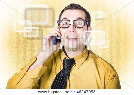 On Call It Consultant Giving Network Advice