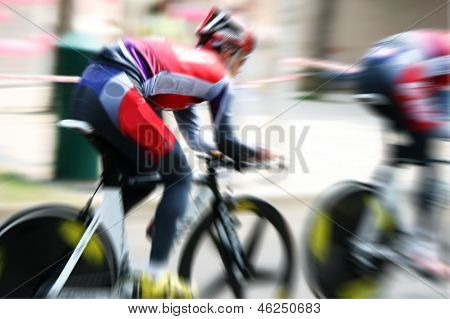 Chrono bike race