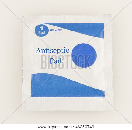 Antiseptic Towelette Packet