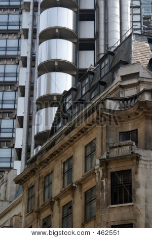 poster of Old And New Architecture In The City Of London