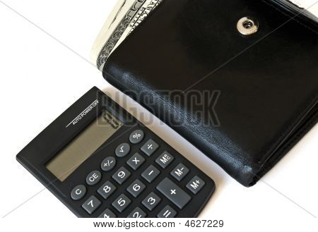 Calculator And Wallet