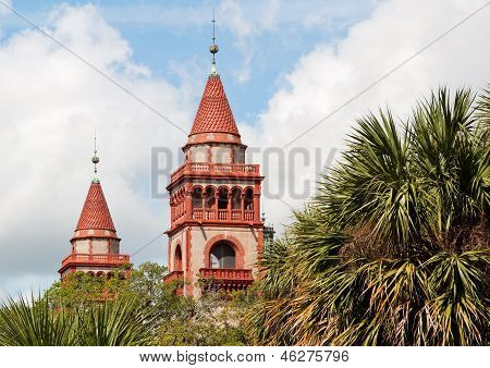 Towers Flagler College, St. Augustine, Florida