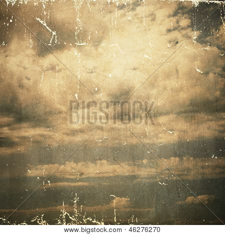 Grunge Paper Texture.  Abstract Nature Background