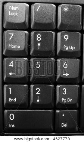 how to make small numbers on keyboard