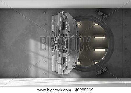 Interior de la bóveda