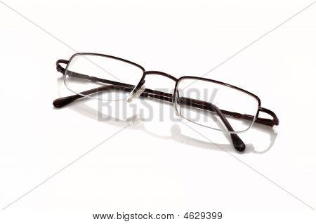 Metallic-rimmed Eyeglasses