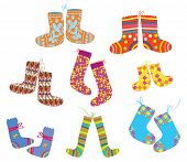 Socks set for christmas children style