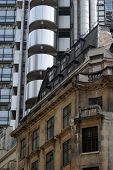 Old And New Architecture In The City Of London poster