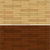 image of floor covering  - seamless vector illustration of wooden floor flooring panel texture - JPG