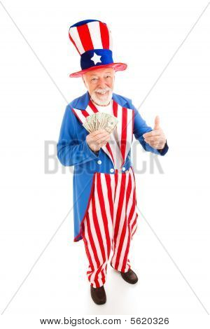 Uncle Sam - Economic Recovery