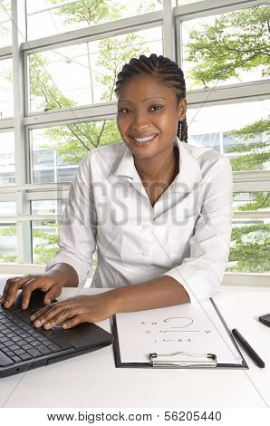 African Student / Business Woman