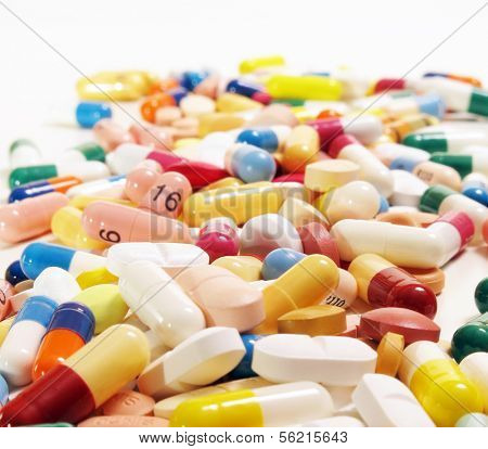 Various pharmaceuticals.