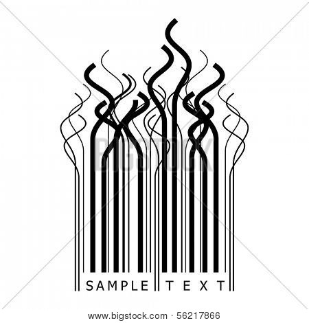 curly barcode