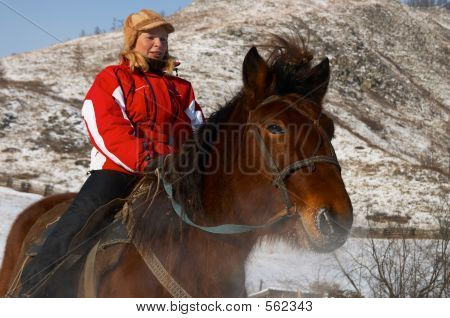 Women On Horseback.