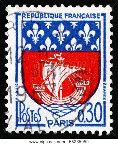 Postage Stamp France 1965 Arms Of Paris