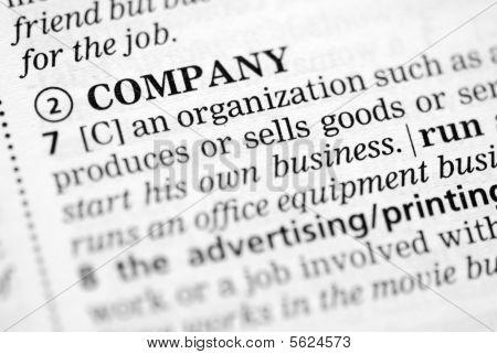 Company definition