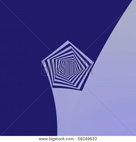 Pentagon Spiral Blues