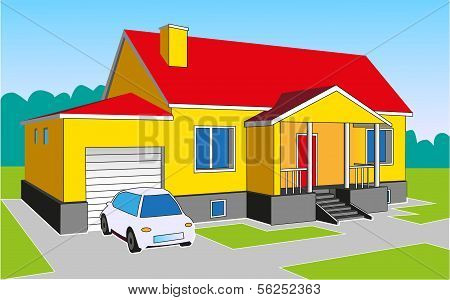 House With A Garage