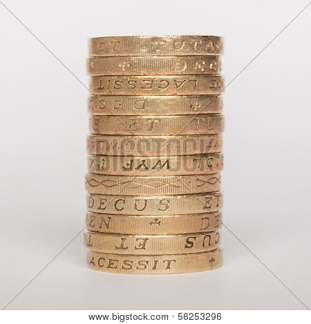 Pounds currency of the United Kingdom