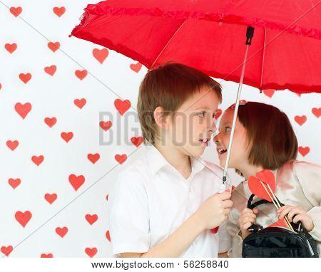 Valentine's Concept