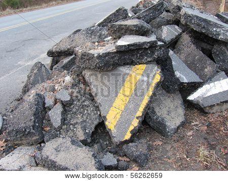 Heap of Road Rubble