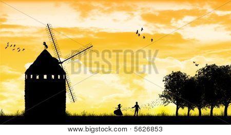 Windmill Romance