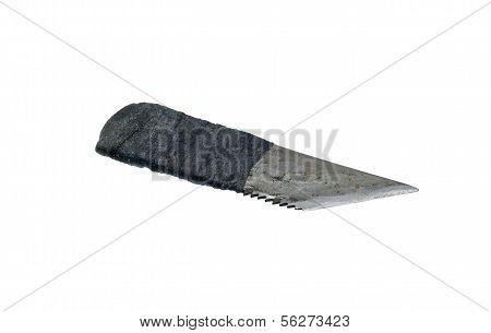Self-made shoe knife