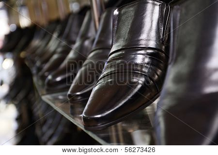 Image Of Men's Shoe Shop.