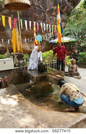 Ritual Sprinkling Water