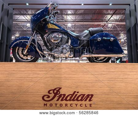 2014 Indian Chieftain, Michigan Motorcycle Show