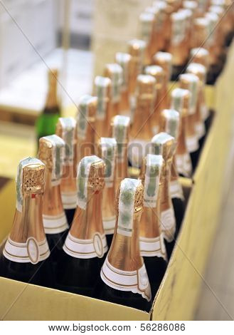 Bottle Of Champagne Wines