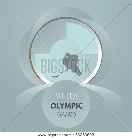 ? Ongratulatory-Postkarte-Eishockey