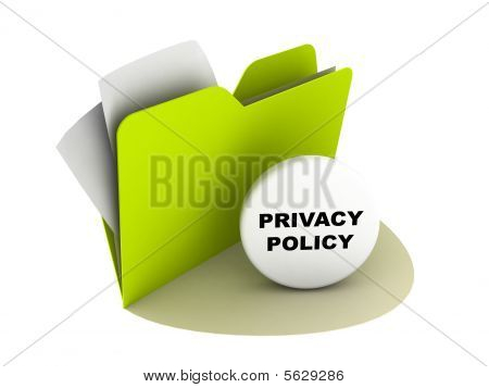 Privacy Policy Button