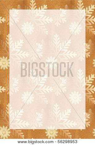 Brown Bag Snowflakes