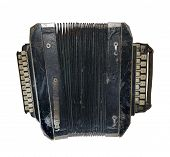 stock photo of accordion  - Button accordion Cossack late 19th century  - JPG