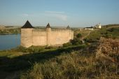 Old Medieval Fortress In Hotyn,ukraine poster