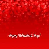 stock photo of valentine card  - Happy Valentine - JPG