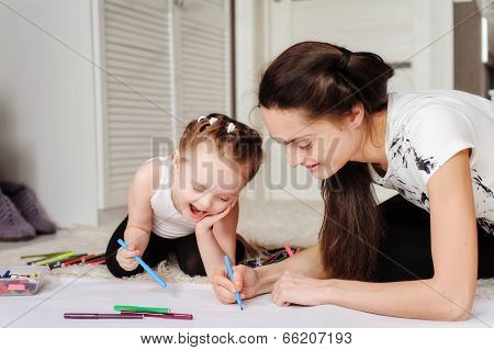 Child Painting picture