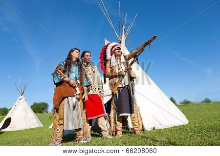 Three North American Indians