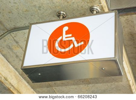 Label Lightbox Of cripple