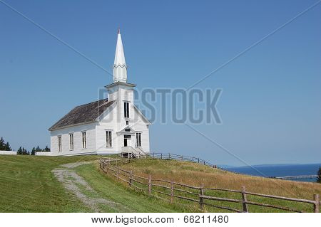 White Church In Canada