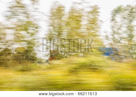 Truck Fast Moving