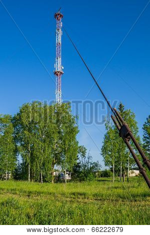 Cellular Communication Tower