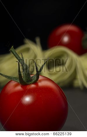 Luscious Ripe Red Fresh Tomato