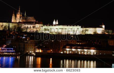 Nightscape Of Prague