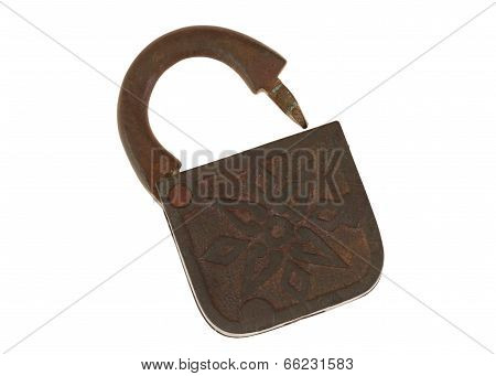 Ancient Copper Lock