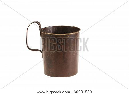 Ancient Bronze Mug