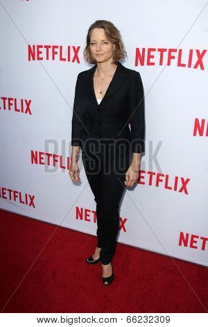 LOS ANGELES - JUN 5:  Jodie Foster at the Netflix Academy Panel